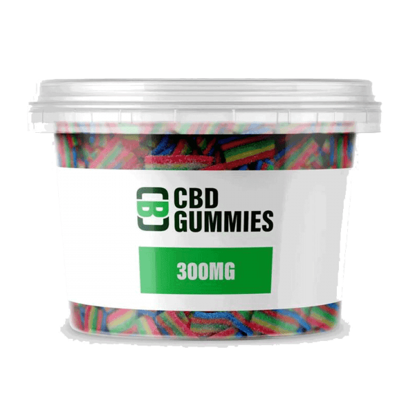 CBD Asylum Gummies 300mg CBD – Eatonslater.com Health food & online health store