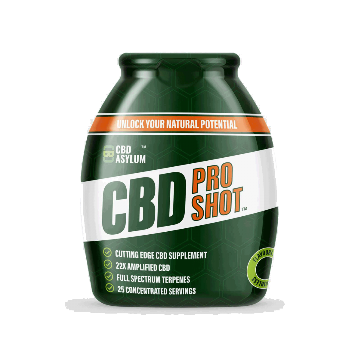 CBD Asylum Pro shot – Eatonslater.com Health food & online health store