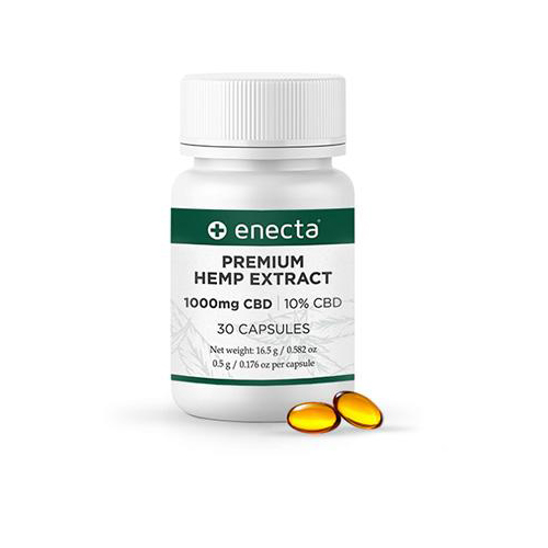 Enecta – Premium Hemp Extract Cbd Capsules – Eatonslater.com Health food & online health store