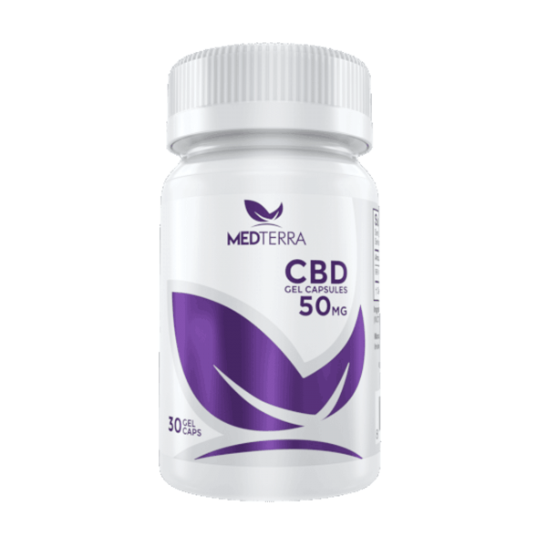 Medterra CBD Capsules 50mg CBD – Eatonslater.com Health food & online health store