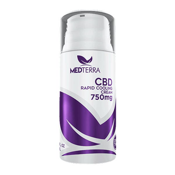 Medterra CBD Rapid Cooling Cream 750mg CBD – Eatonslater.com Health food & online health store